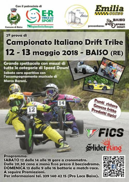 2° Prova Campionato Italiano Drift Bike